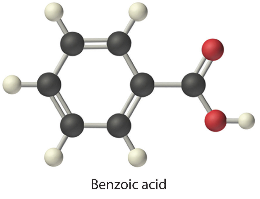 Benzoic Acid Lewis Dot Structure The chamber was then emptied