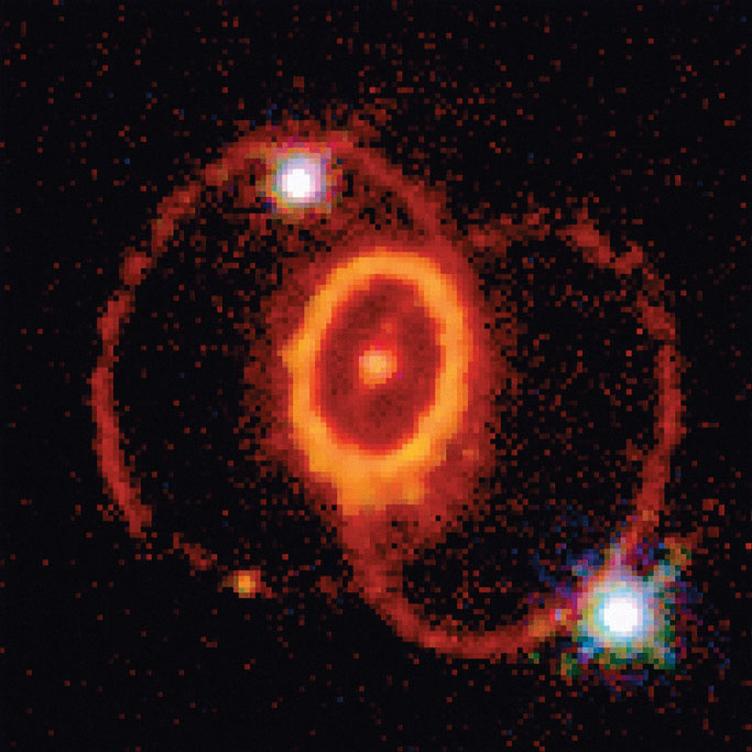Explosion Real Supernova 1987A - Pics about space