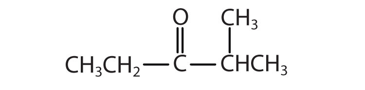 What is the formula for methyl butanoate?
