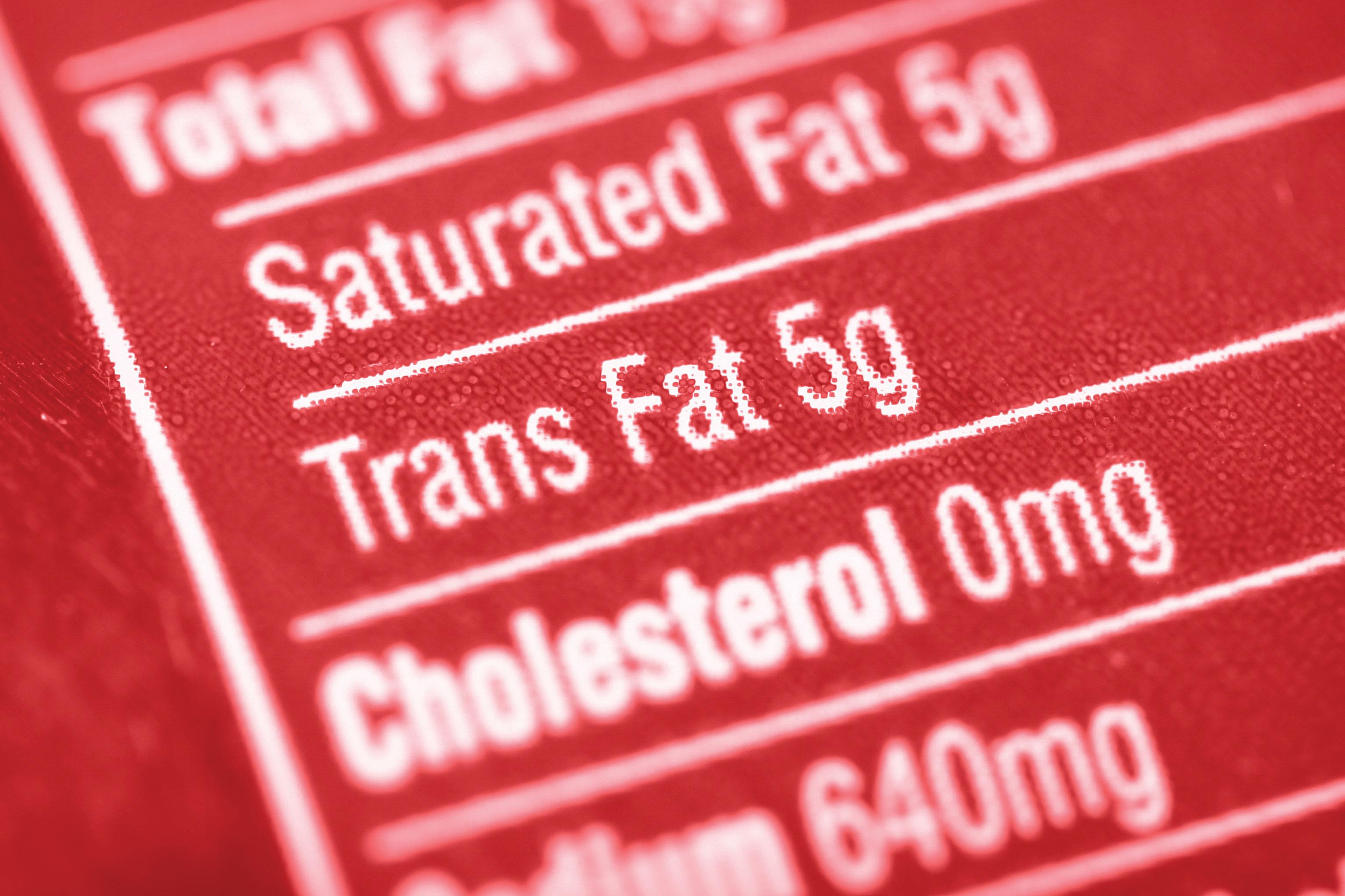 trans fat essay