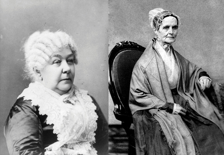 lucretia mott and elizabeth cady. Elizabeth Cady Stanton and