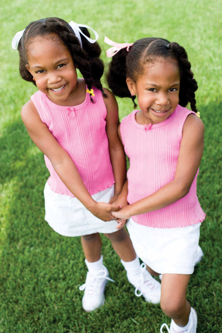 African American Identical Twins Although twins often behave