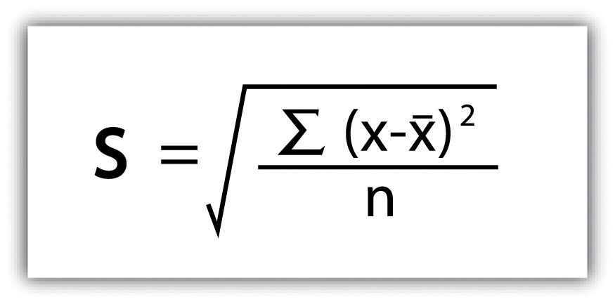 67 Symbol Of Mean And Standard Deviation Of Mean And Deviation