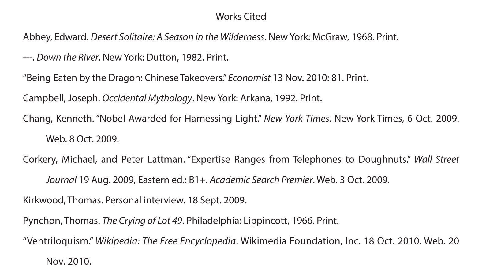 How to Cite an Anthology in MLA Style