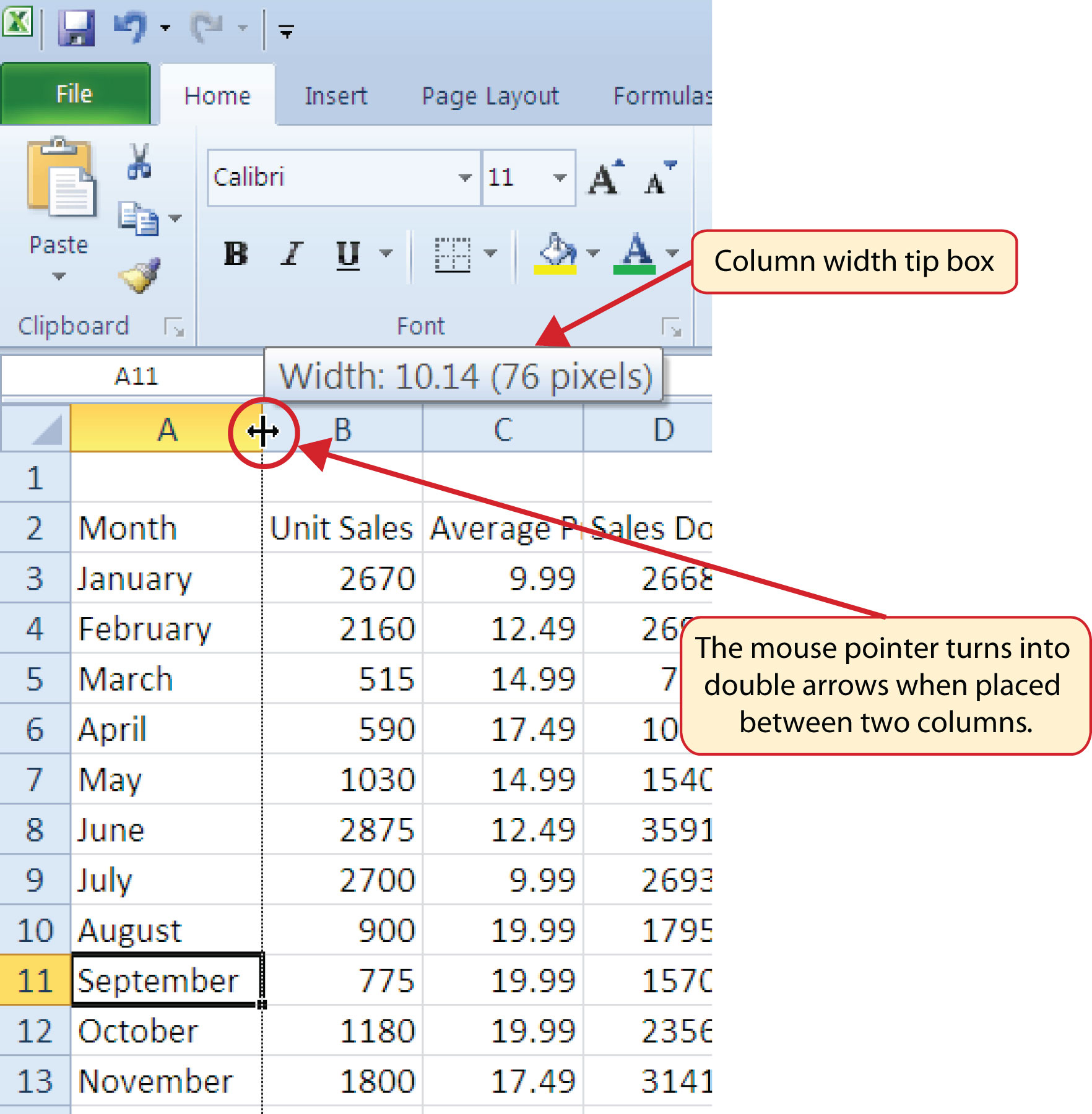 math worksheet : how to change cell size in excel 2010 ms excel 2007 ...