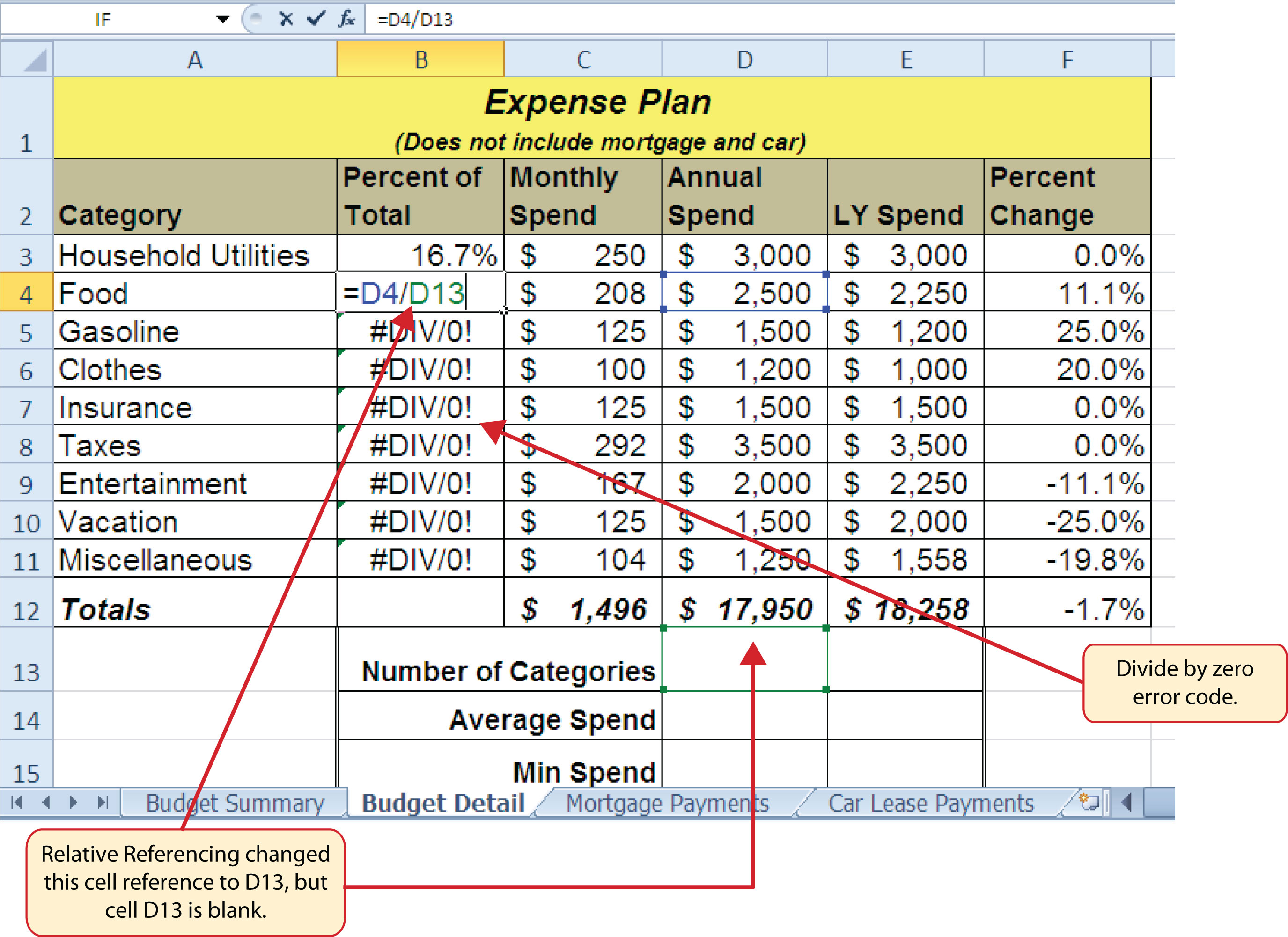 percentage error formula for excel   Search for a good cause