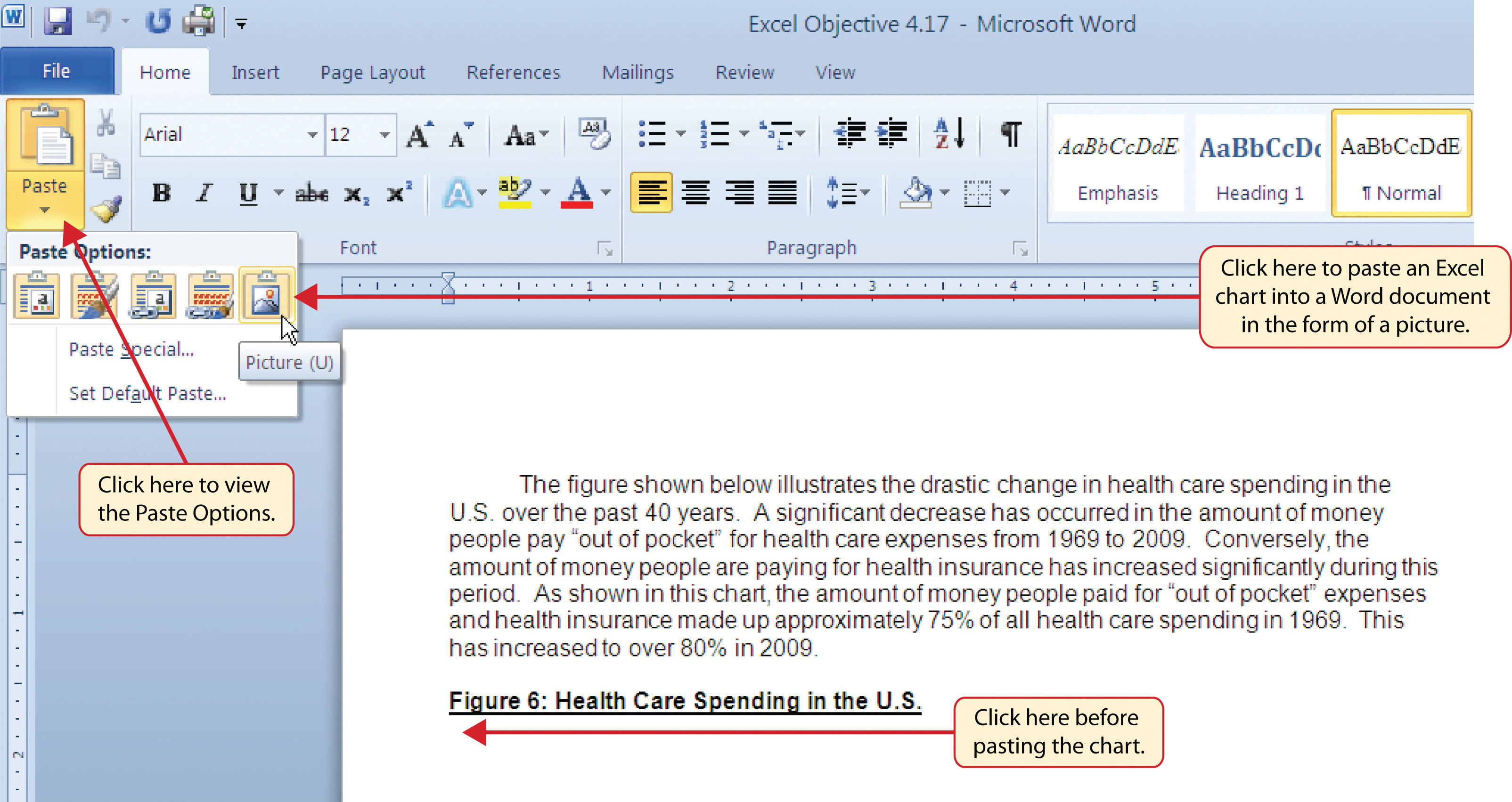 How to Use Microsoft174 Excel174 The Careers in Practice – T Chart in Microsoft Word