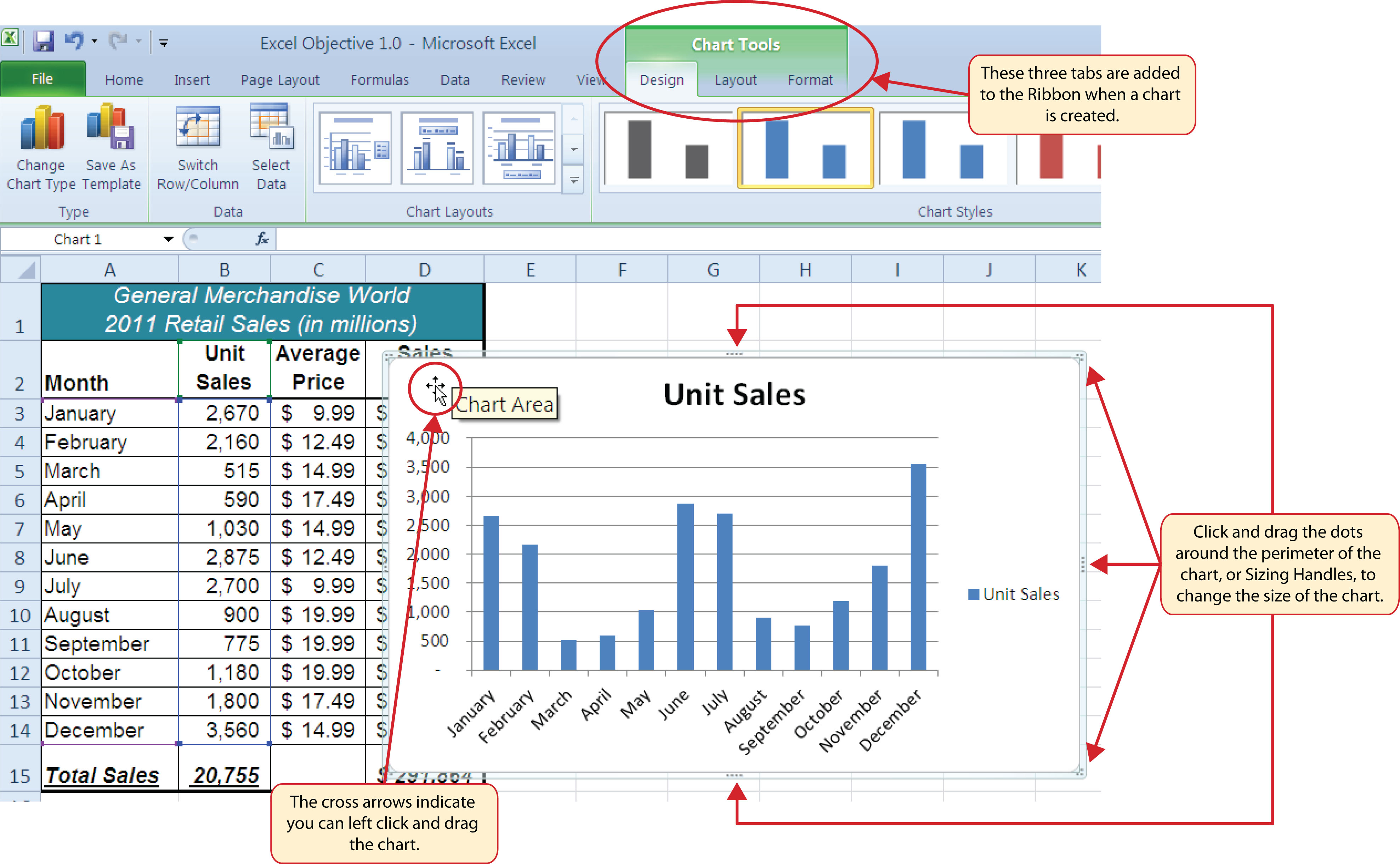Change color of lines in excel graph - Figure 1 50 Embedded Column Chart In Sheet1