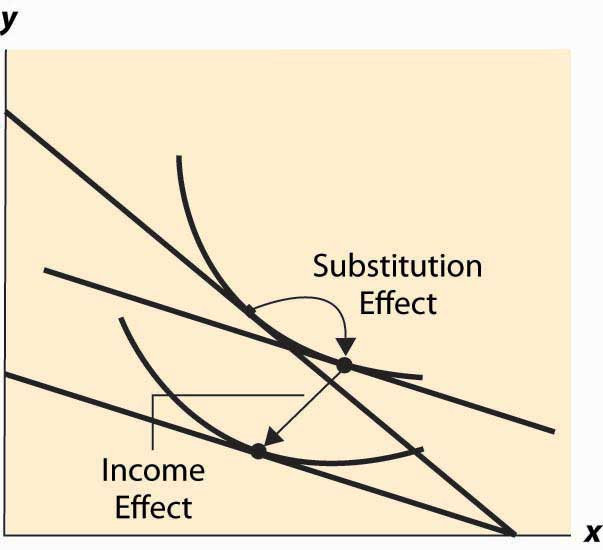 Income Effect and Substitution Effect | Consumption Theory