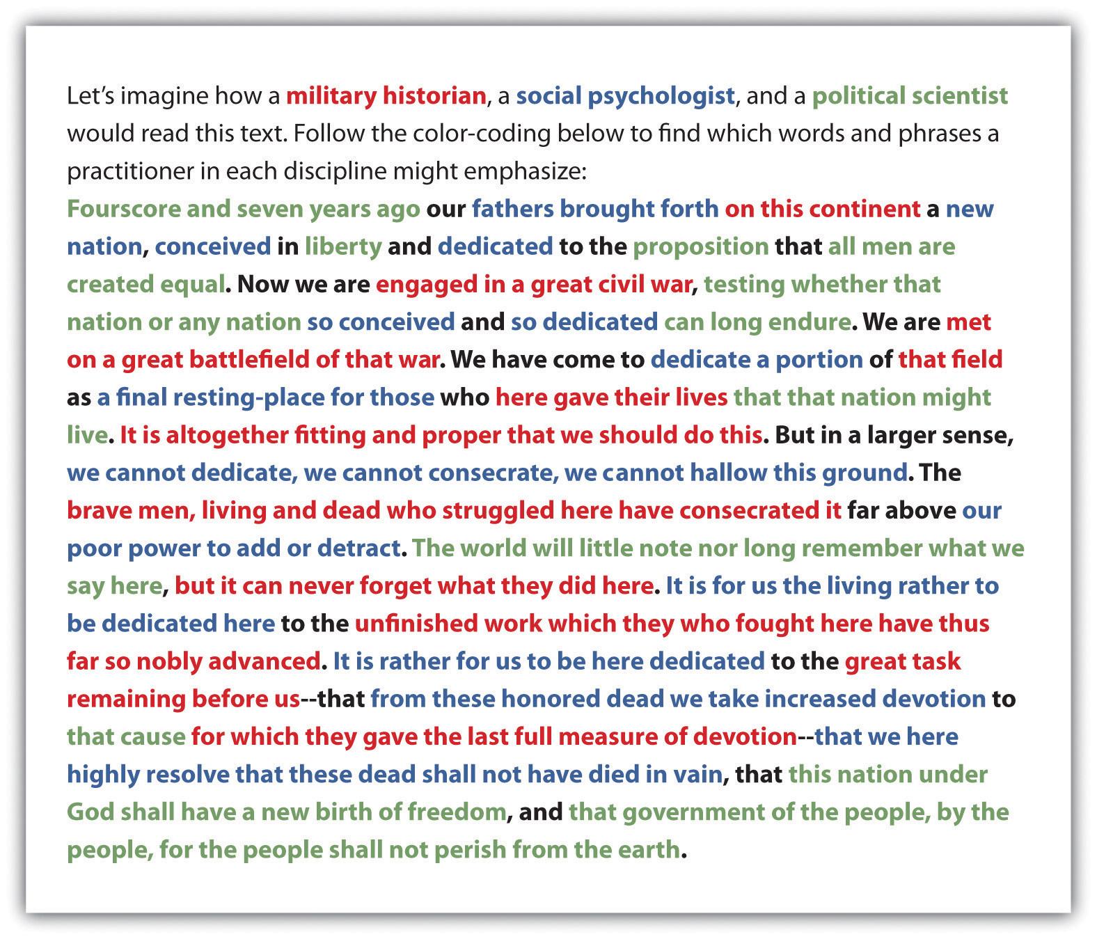 Gettysburg address paper | Scrapbook Ideas | Pinterest