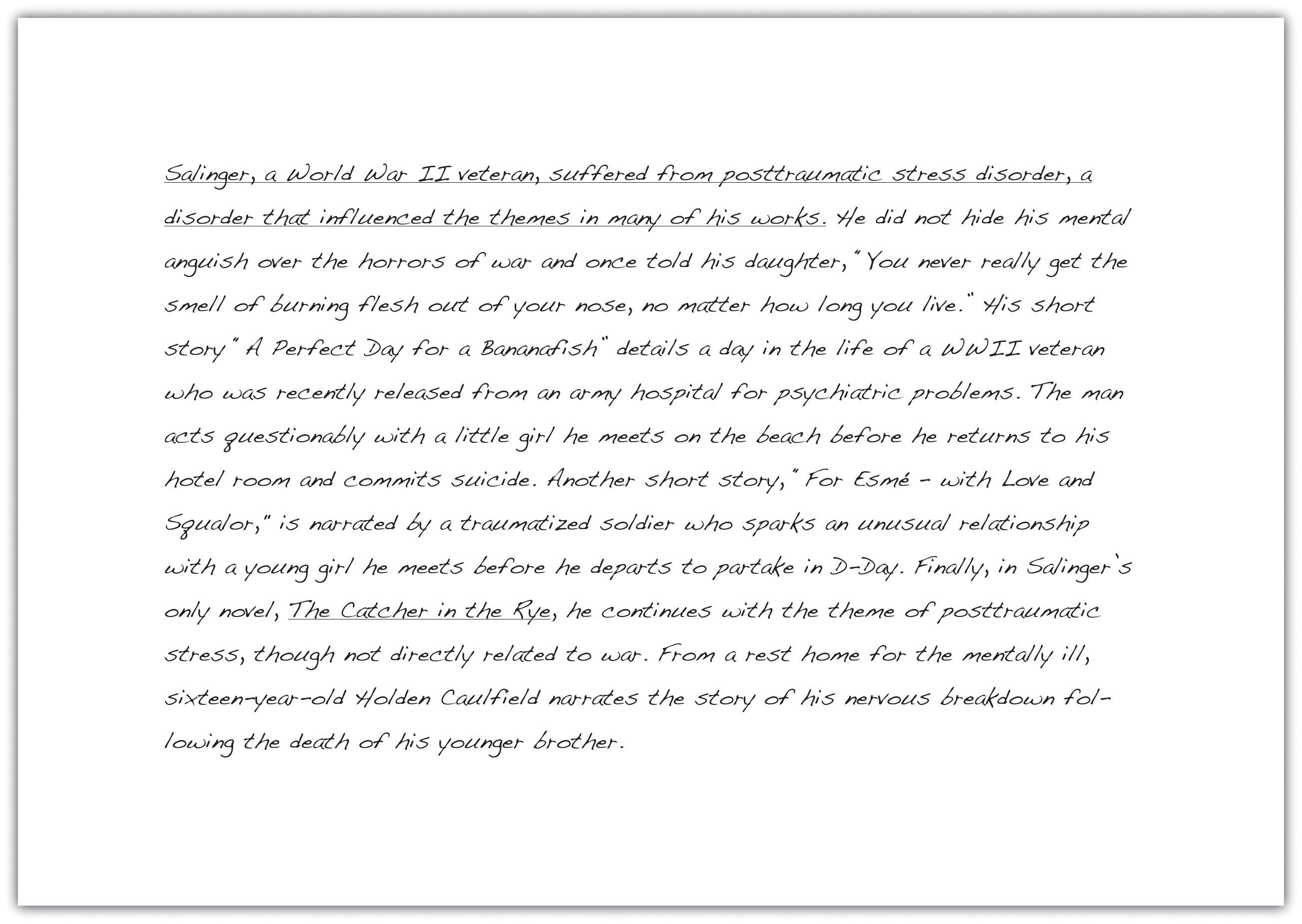 Great love letters throughout history essay