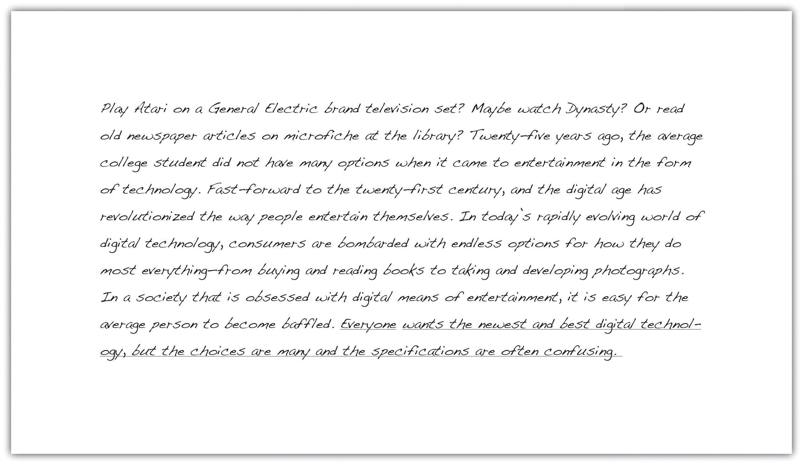 english commentary thesis Aqc – assertion, quotation, commentary when writing a literary analysis, it is essential to support your thesis statement with text from the work of literature you are discussing – this is called a direct quotation when adding quotations to your writing, it is important to surround them with material that will help them make.