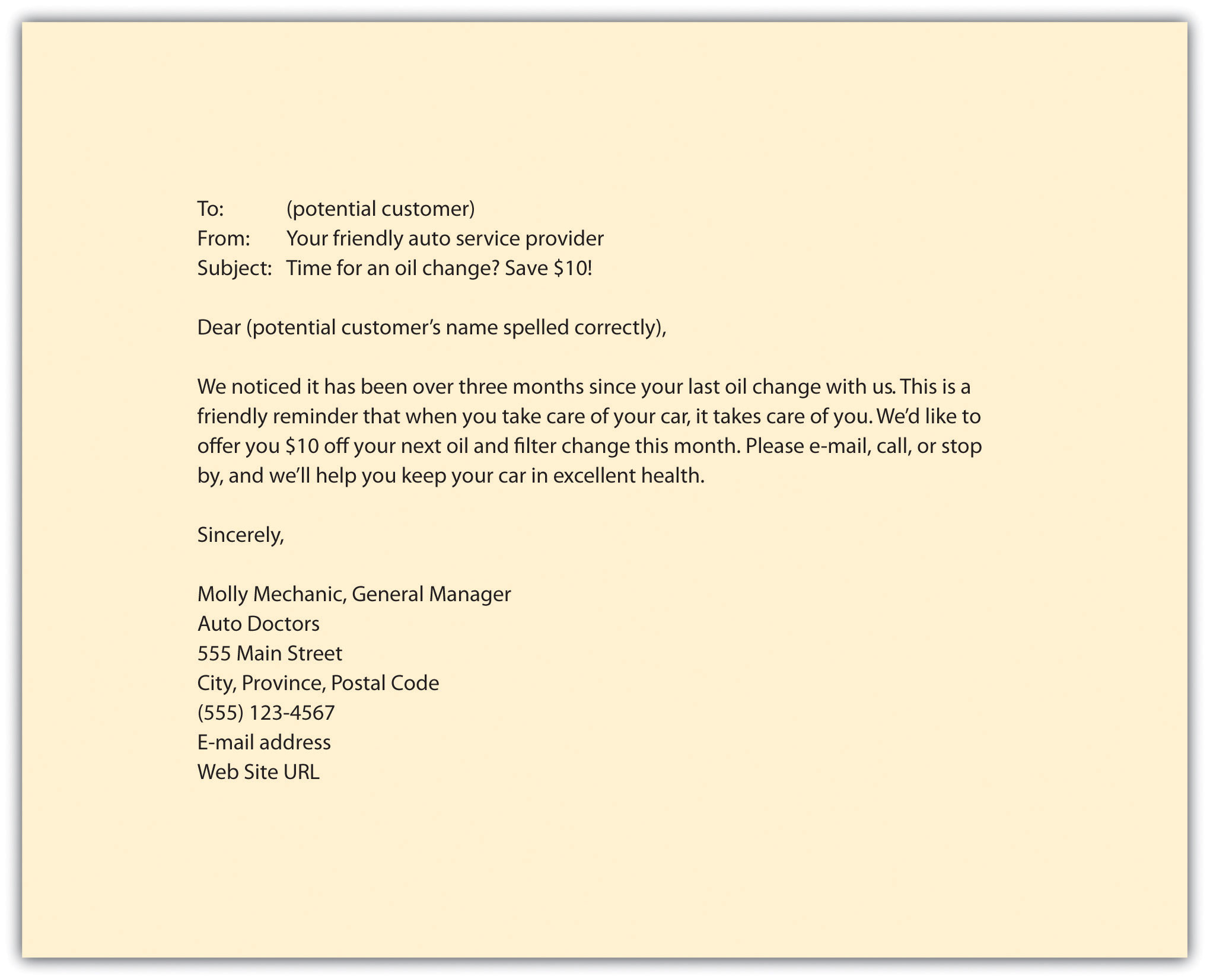 Doc500633 Persuasive Sales Letter Example Doc500633 – Sample Business Sales Letter