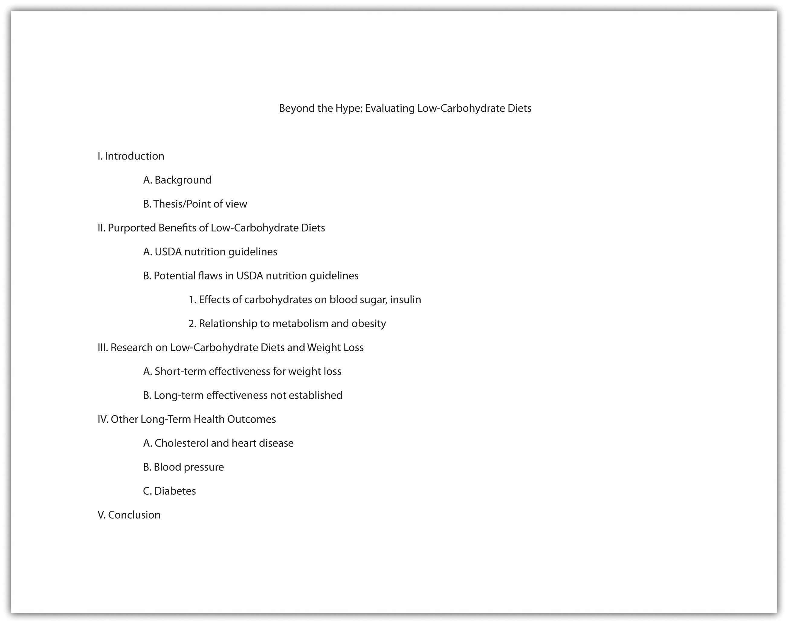 research paper outline powerpoint
