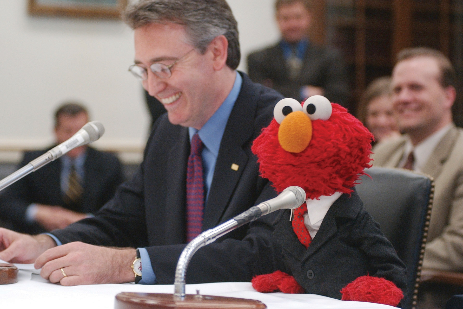Image result for elmo in suit