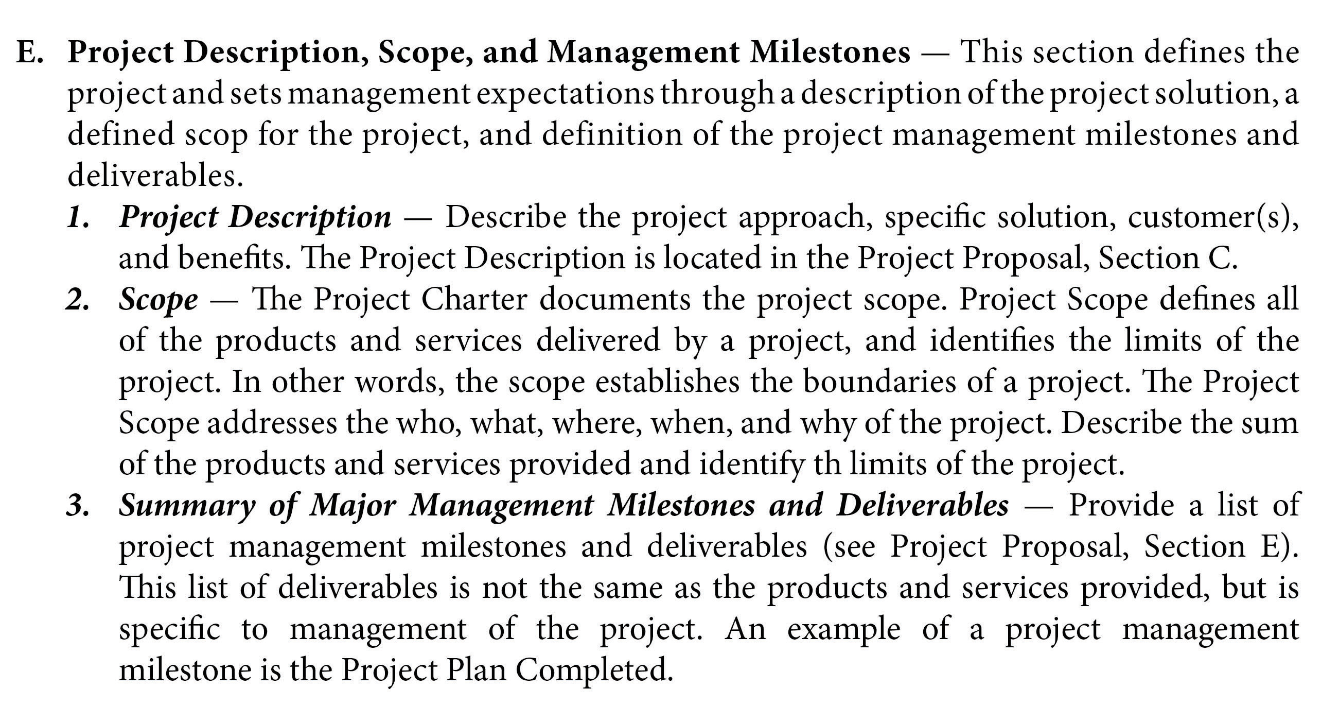 Project Management from Simple to Complex 11 – Project Scope Template