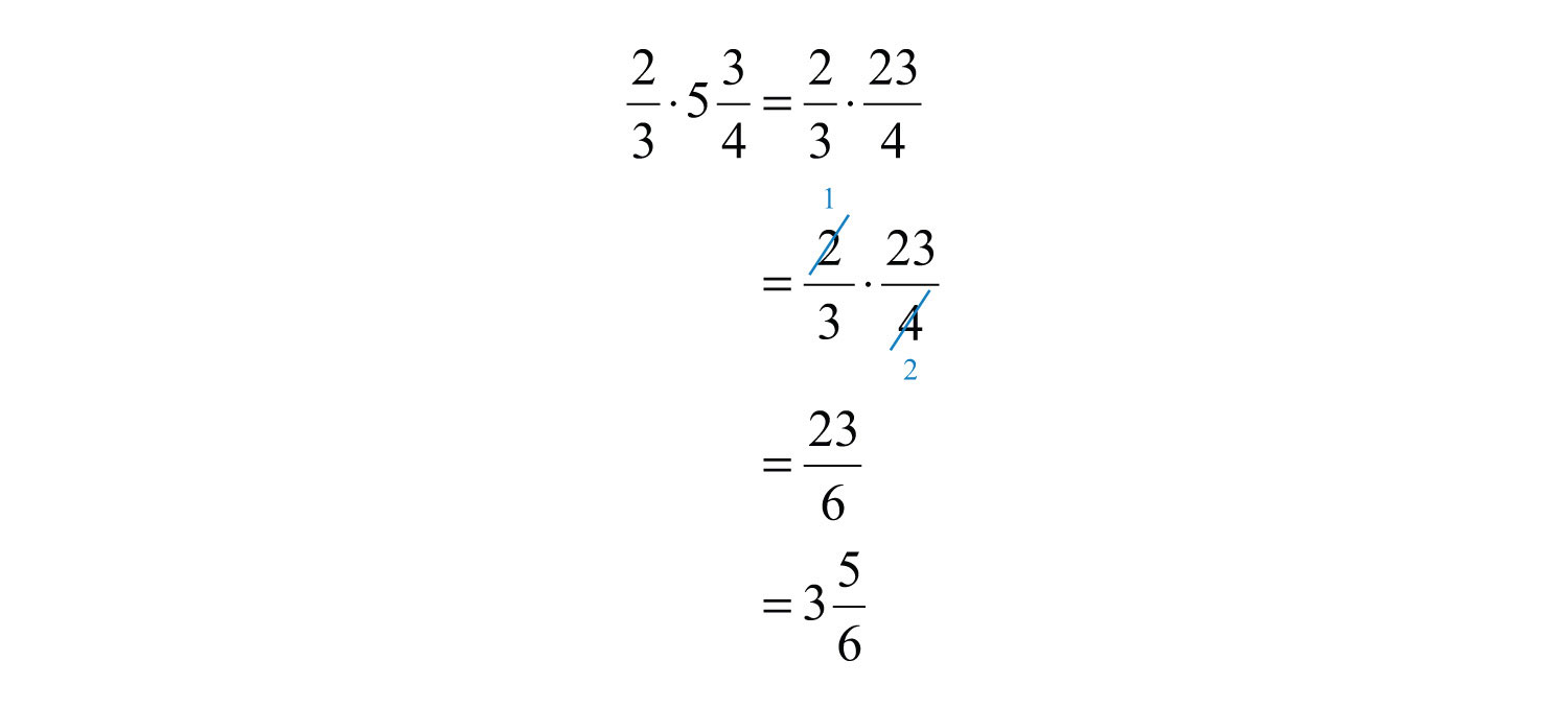 In This Example, We Noticed That We Could Reduce Before We Multiplied The  Numerators And The Denominators Reducing In This Way Is Called Cross