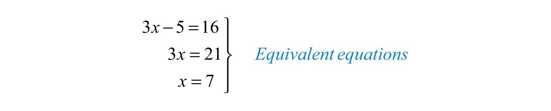 how to write equivalent equations
