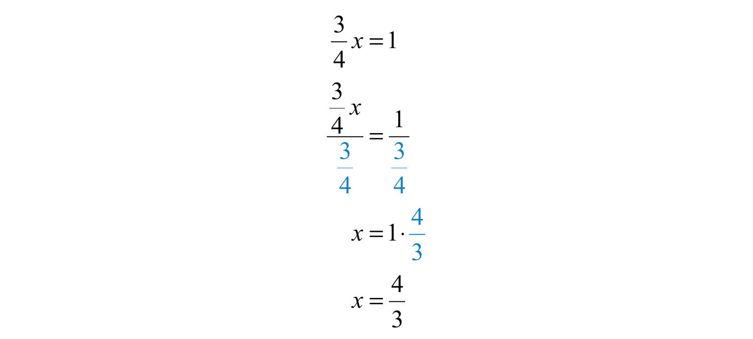 On The Left Side Of The Equal Sign, The Fraction Cancels On The Right  Side, We Have Aplex Fraction And Multiply By The Reciprocal Of The  Coefficient