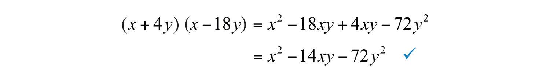 Elementary Algebra 10 – Factoring Quadratic Expressions Worksheet