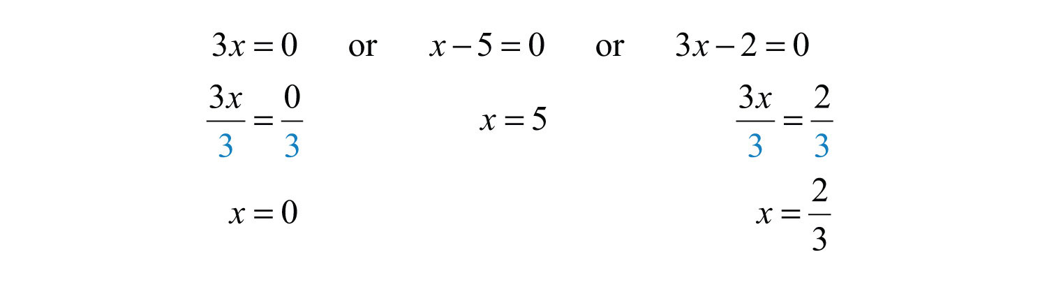 Elementary Algebra 10 – Solving Equations by Factoring Worksheet