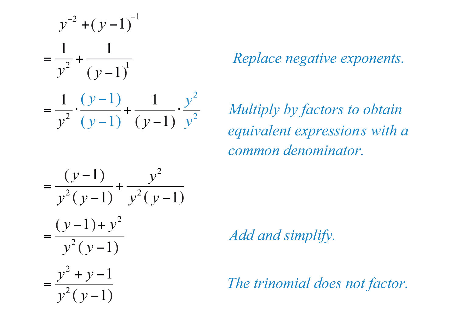 An Error Occurred Simplifying Fractions With Negative Exponents How To  Divide Mixed