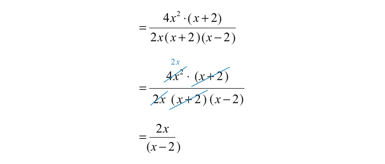 Elementary Algebra 10 – Simplifying Rational Expressions Worksheet