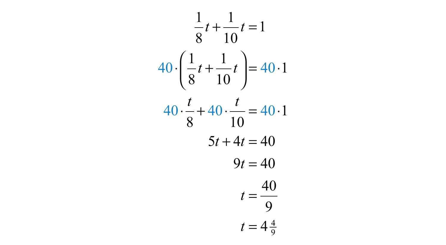 proportions and problem solving with rational equations