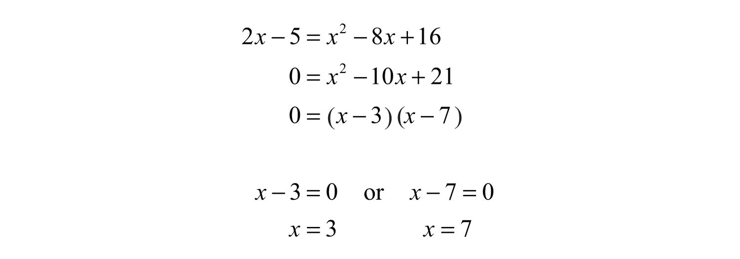 Step 3: Solve The Resulting Equation Here You Are Left With A Quadratic  Equation That Can Be Solved By Factoring