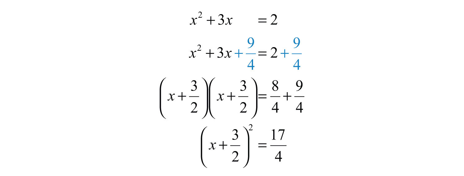 Solve By Extracting Roots