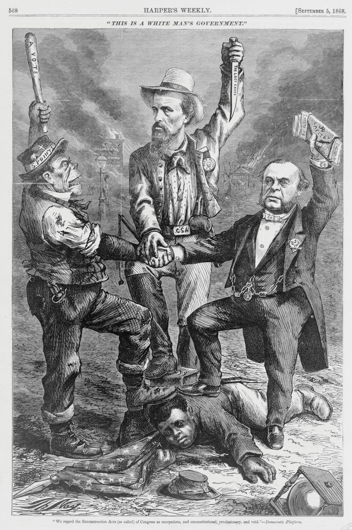 Is this an accurate depiction of the American political system between 1877 and 1932?