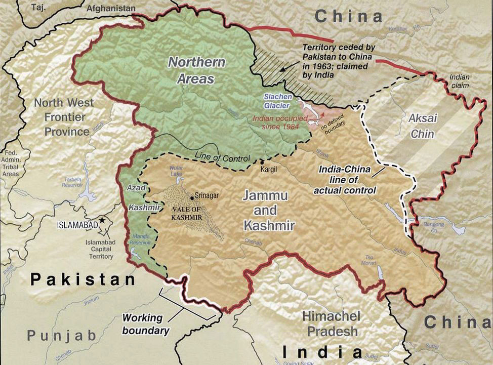 World Regional Geography A Course Supplement People Places And - Hindu countries in world map