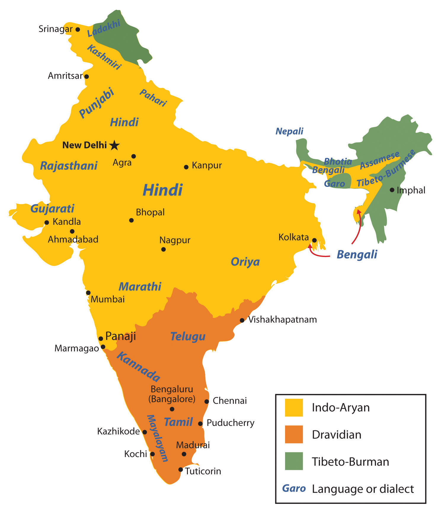 World regional geography people places and globalization 10 hindi is the official language of the government and both hindi and english are the lingua franca gumiabroncs Images