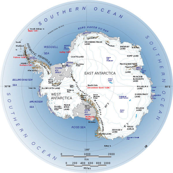Figure 13.10 The Southern Ocean And Antarctica