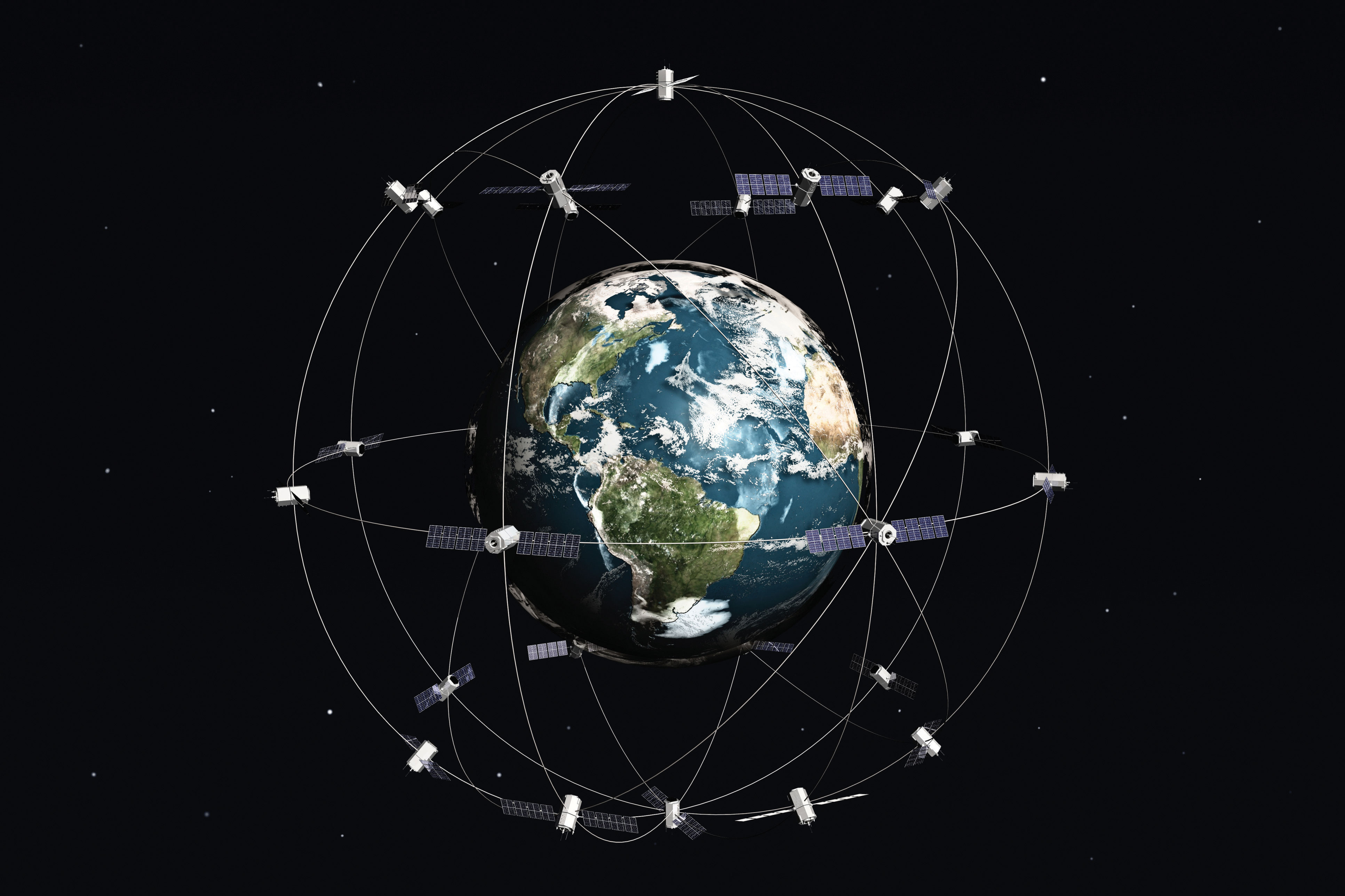 Essentials Of Geographic Information Systems FlatWorld - World satellite picture