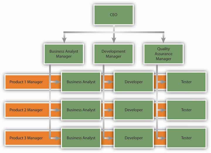 business matrix example