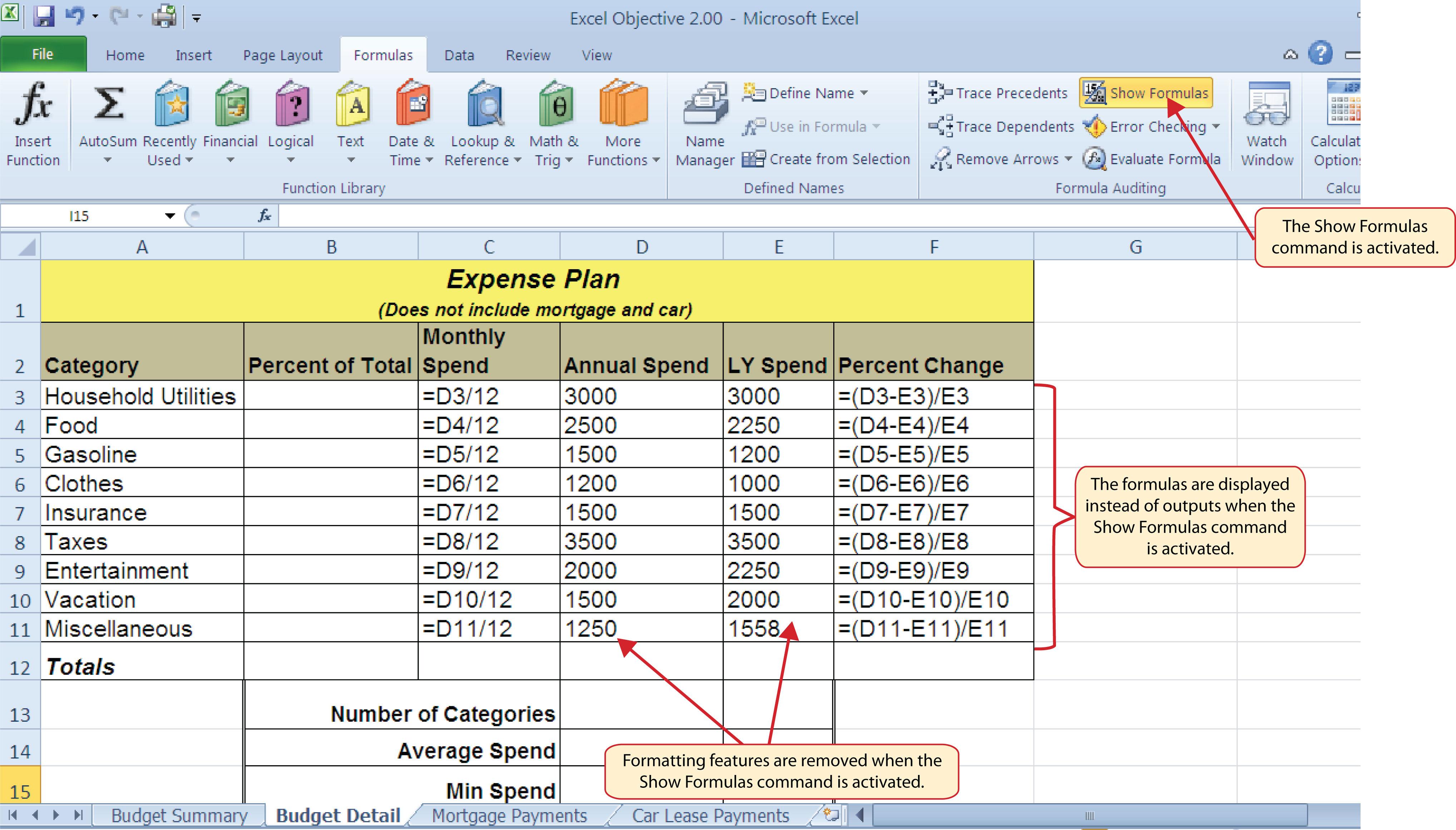 worksheet Excel Worksheet Function how to use microsoft excel the careers in practice auditing formulas