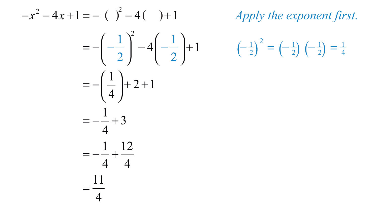 algebra elementary algebra There are three categories in the elementary algebra test: operations with  integers and rational numbers includes: computation with integers and negative.