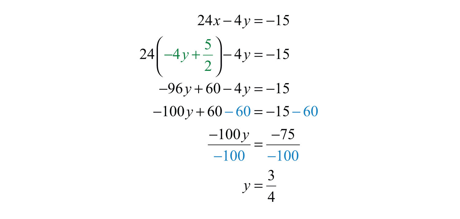Elementary Algebra 10 – Solving Systems of Equations Worksheet
