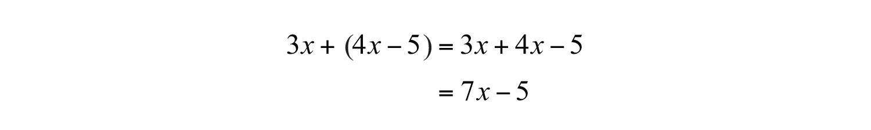 Elementary Algebra 10 – Addition of Polynomials Worksheet