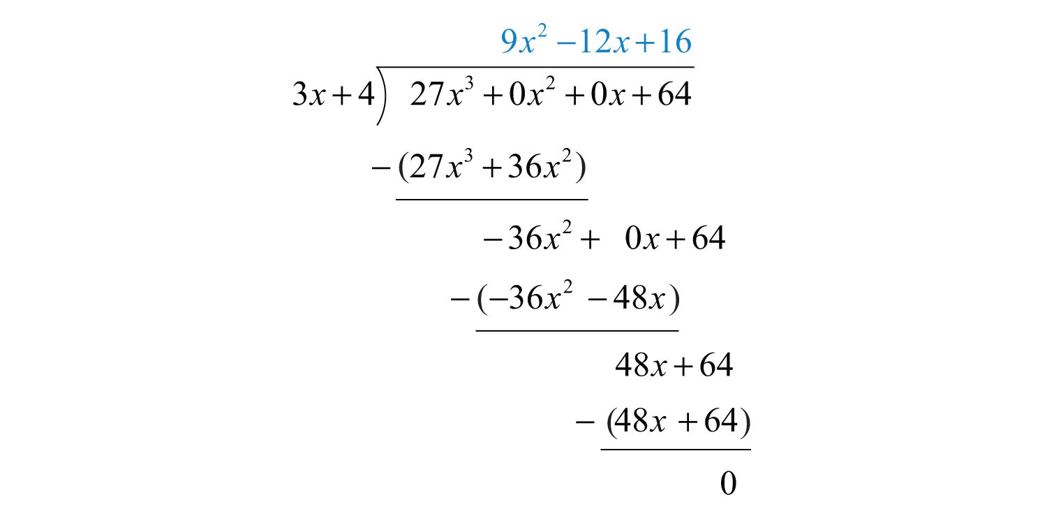 Worksheets Division Of Polynomials Worksheet elementary algebra 1 0 flatworld polynomial long division ends when the degree of remainderthe expression that is left after algorithm less than the