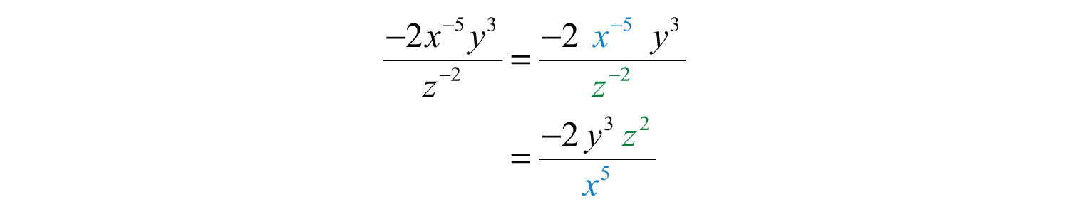 math worksheet : elementary algebra 1 0  flatworld : Exponent Divided By Exponent