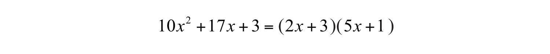 Elementary Algebra 10 – Factoring Ax2 Bx C Worksheet Answers