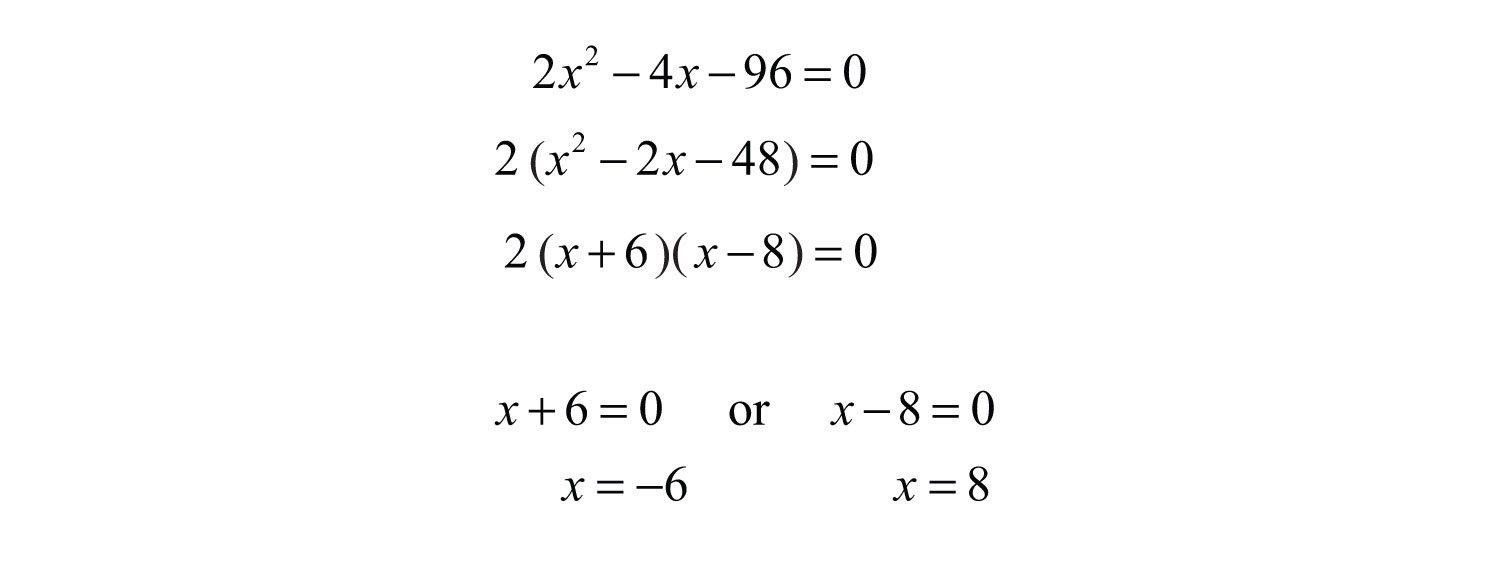 Elementary algebra v10 flatworld because lengths cannot be negative disregard the negative answer in this case the long leg measures 8 inches falaconquin