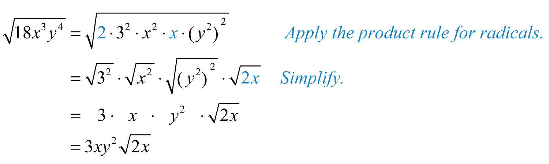 simplifying radicals worksheet answers