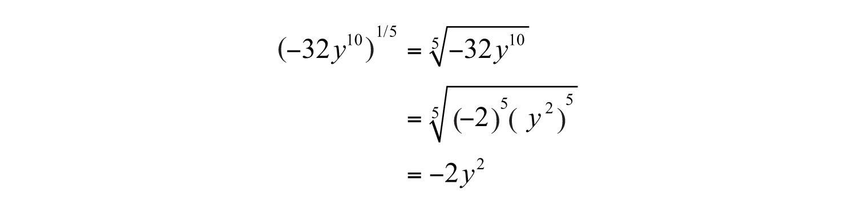 Elementary Algebra 10 – Rational Exponents Worksheet