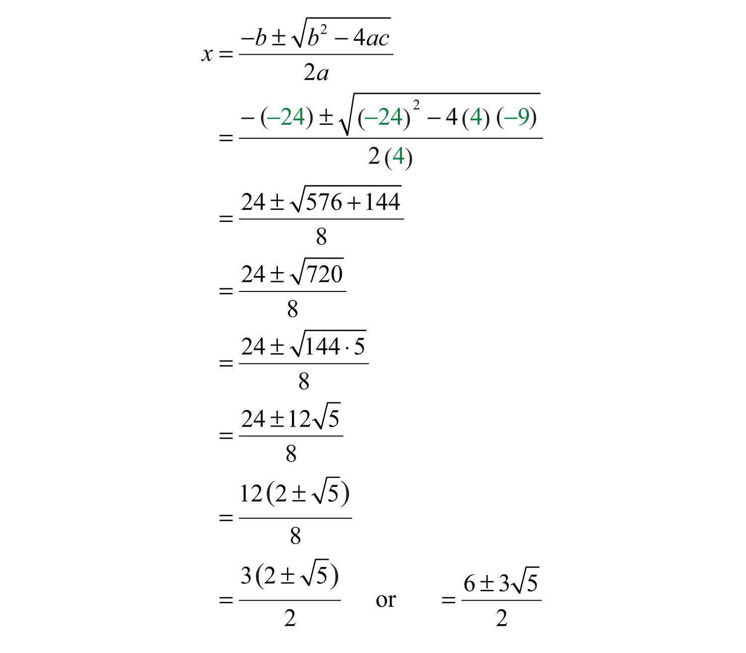 Uncategorized Quadratic Formula Worksheet With Answers elementary algebra 1 0 flatworld answer the solutions are