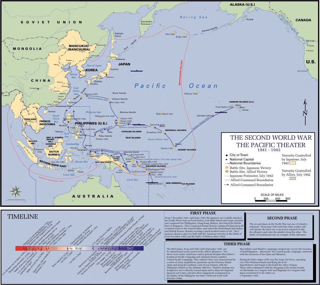 A History Of The United States Volume FlatWorld - Us strategic map