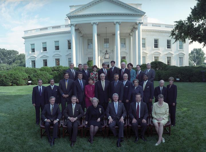 Cabinet Members Bill Clinton - thesecretconsul.com
